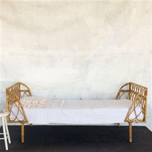Vintage Bamboo Daybed - Image 3 of 3