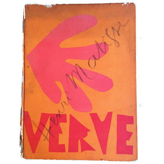 1954 Henri Matisse Decoration Fruits Original Lithograph - Image 6 of 7