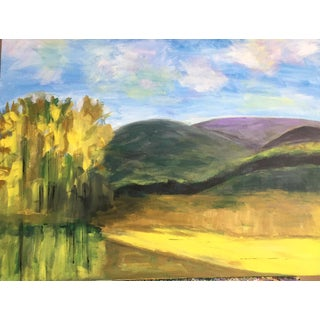 """In the Valley"" Painting"