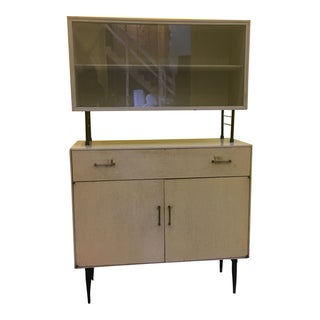 Mid Century Two Piece Cabinet