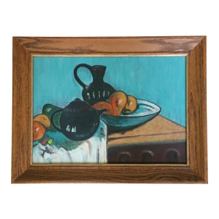 1968 Still Life Painting after Paul Gauguin
