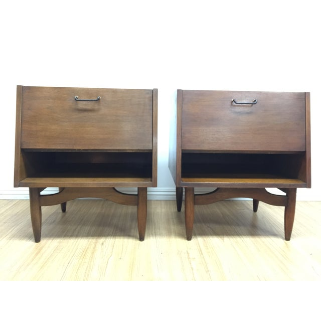 American of Martinsville Night Stands - Pair - Image 4 of 8