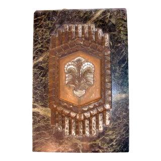 Philadelphia Civic Center Art Deco Marble Plaque