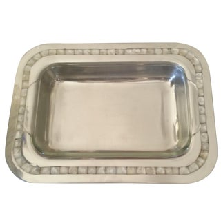 Towle Mother of Pearl 2 Quart Baker