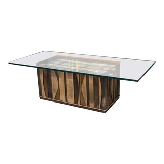 C. Jere Brutalist Coffee Table