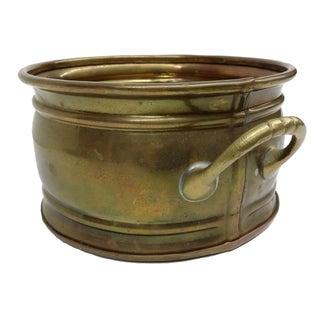 Antique Handmade Brass Pot