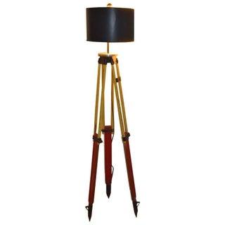 Surveyor's Tripod Floor Lamp