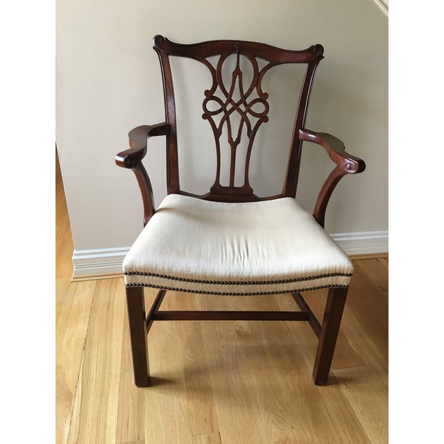 Baker Furniture Mahogany Dining Chairs - Set Of 8