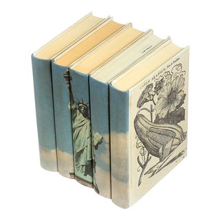 Sarried Ltd Statue of Liberty Books - Set of 5