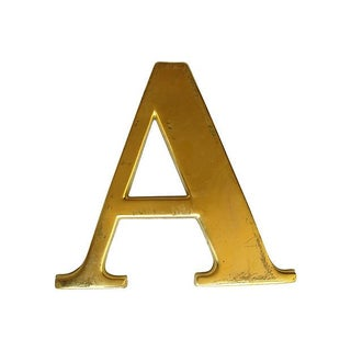 Large English Pub Sign - Letter A