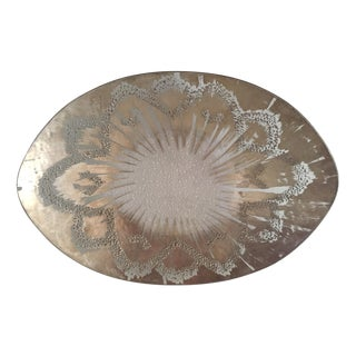 Mid-Century Modern Dorothy Thorpe Curved Platter