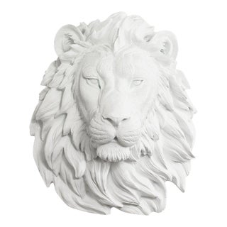 Wall Charmers Lion in White