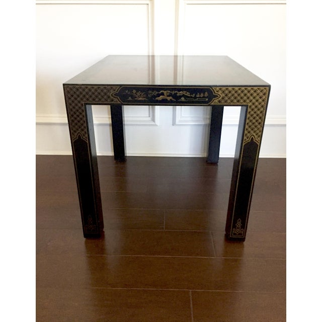 Vintage Drexel Heritage Chinoiserie Style End Table Chairish