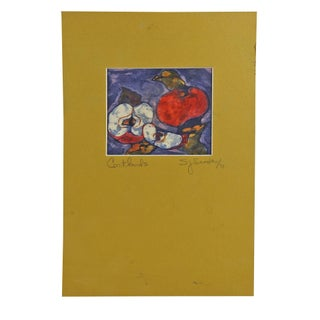 Cortland Apples Batik Print