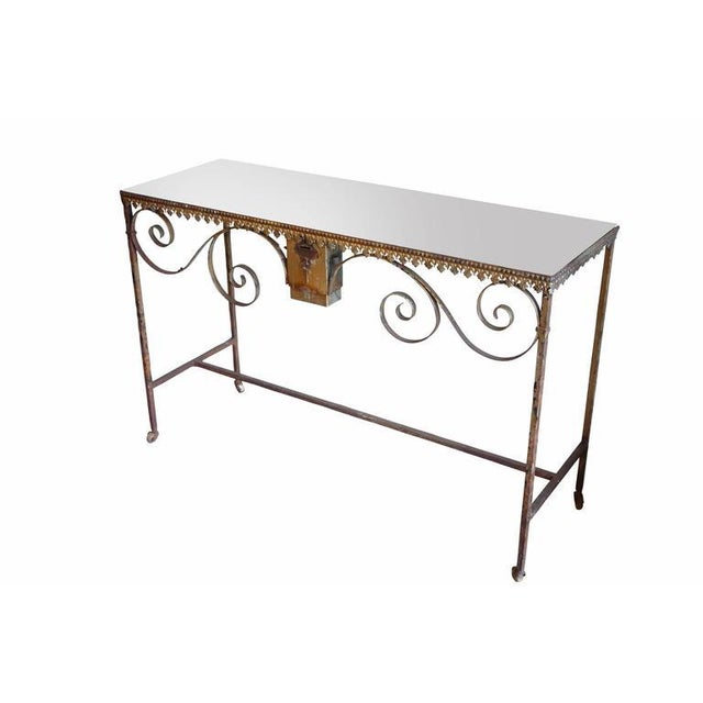 Wrought Iron Church Offerings Console - Image 3 of 7