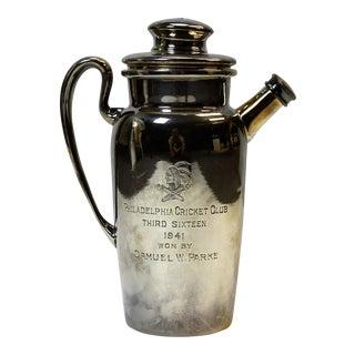 Philadelphia Cricket Club 1941 Cocktail Shaker