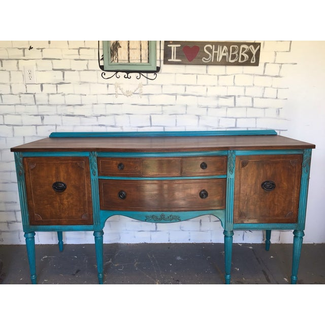 1900's European Antique Sideboard - Image 4 of 9