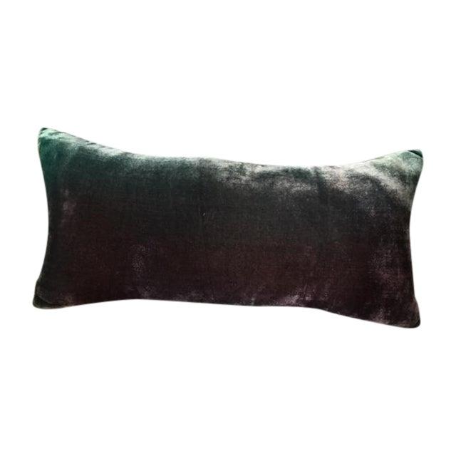 "Kevin O'Brien ""Antique Grey"" Lumbar Pillow - Image 1 of 5"