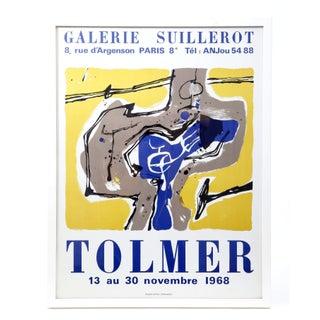 Roger Tolmer Framed Exhibition Poster