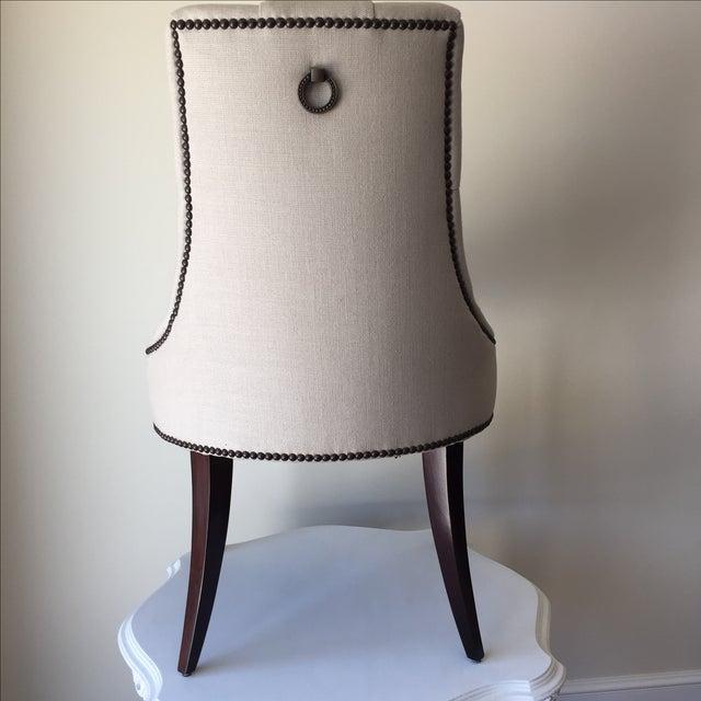 Baker Thomas Pheasant Coffee Table: Thomas Pheasant Baker Dining Chairs - A Pair!