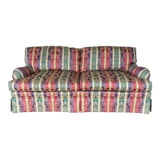 Henredon Traditional Style Custom Folio Sofa Settee