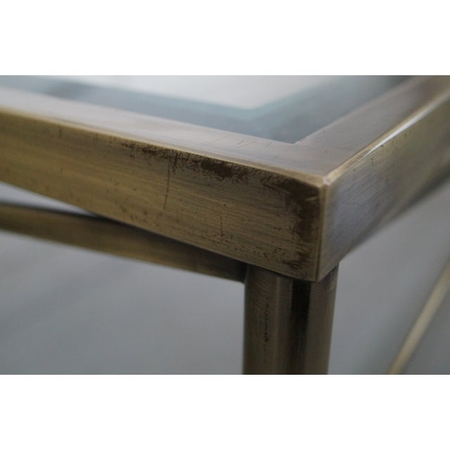 Design Institute of America Steel Coffee Table - Image 9 of 10