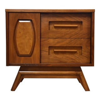 Young Manufacturing Walnut Nightstand