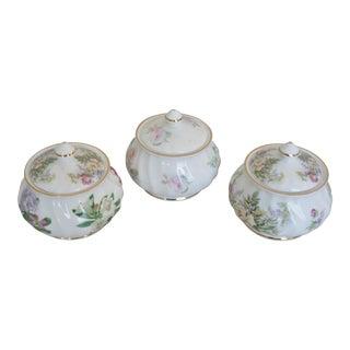 English Royal Patrician Sugar Bowls - Set of 3