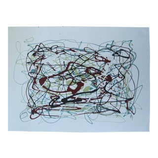 Tim Meyers Abstract Expressionist Painting