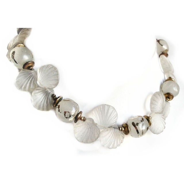 Image of Vintage Miriam Haskell Seashell Choker Necklace