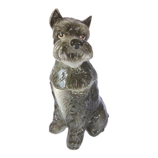 California Originals Schnauzer Dog Cookie Jar