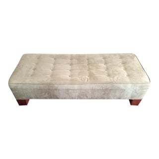 Crate & Barrel Tufted Ottoman