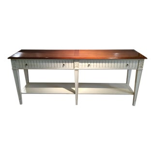French Provencal Double Console