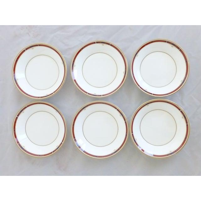 """Wedgwood """"Colorado Gold"""" Fruit Bowls - Set of 6 - Image 4 of 7"""