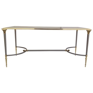 Maison Jansen Vintage Brass Cocktail Table