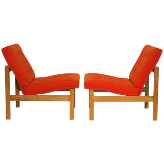 Easy Chairs by Ole Gjerløv-Knudsen for Cado - Pair