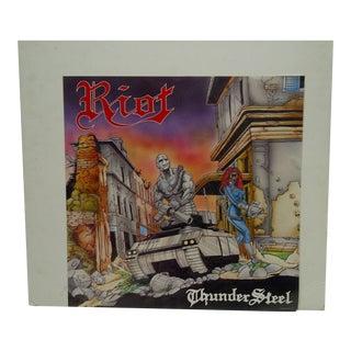 """""""Riot: Thunder Steel"""" Album Poster"""