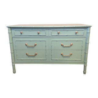 Thomasville Faux Bamboo Dresser