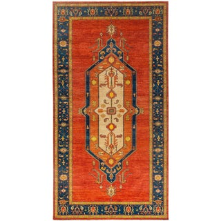 "Ziegler, Hand Knotted Area Rug - 7' 3"" x 13' 7"""