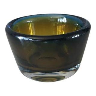Vicke Lindstrand for Kosta Boda Mid-Century Art Glass Bowl