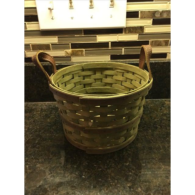 Hand-Woven Basket - Image 2 of 5