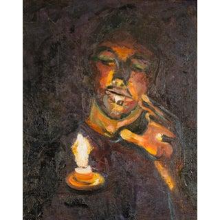 """Jamal"" Original Oil Painting"