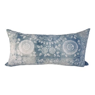 Batik Faded Indigo Body Pillow