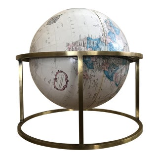 Paul McCobb Style Mid Century Modern Replogle Desk Globe