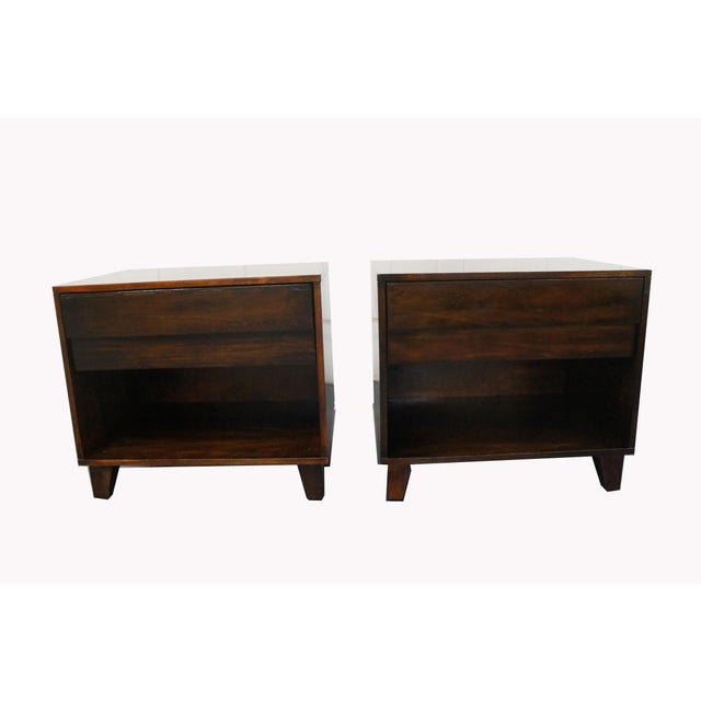 Mid-Century Modern Nightstands- A Pair - Image 9 of 9