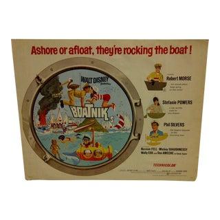 "1970 Vintage Movie Poster of ""Boatniks"""