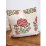 Image of Embroidered Decorative Throw Pillows - A Pair
