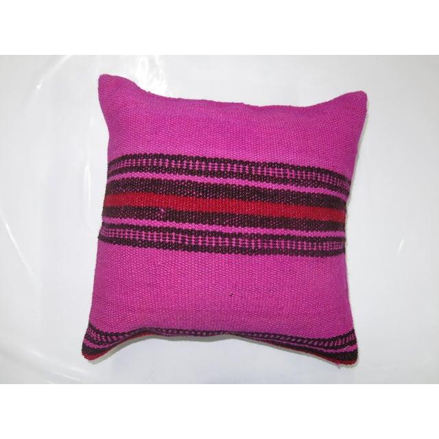Pink Kilim Pillow Chairish