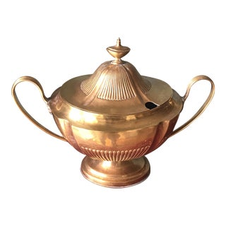 Brass Soup Tureen
