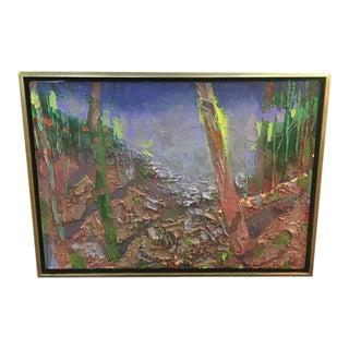 "Brian Rutenberg ""Study for Trance"" Original Painting"